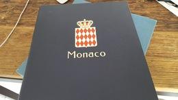 LOT 4016156 ALBUM DAVO LUXE POUR TIMBRE DE MONACO VIDE DE 1885 A 1969 PORT A 10 EUROS - Timbres