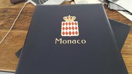 LOT 4016157 ALBUM DAVO LUXE POUR TIMBRE DE MONACO VIDE DE 1985 A 1992 A 1969 PORT A 10 EUROS - Collections (with Albums)