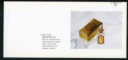 """CARTE PUB 12,5 X 27,5  - """"GLOIRE DE PARIS"""", ROGER ET GALLET - Unclassified"""