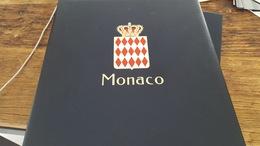 LOT 406158 ALBUM DAVO LUXE POUR TIMBRE DE MONACO VIDE DE 1985 A 1995 PORT A 10 EUROS - Stamps