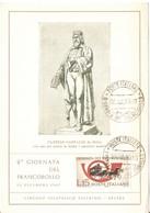 CARTOLINA FELTRE: 2a GIORNATA DEL FRANCOBOLLO 1960 CON ANNULLO - Borse E Saloni Del Collezionismo