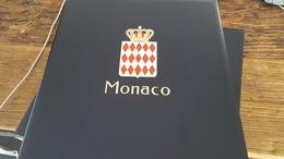 LOT 406159 ALBUM DAVO LUXE POUR TIMBRE DE MONACO VIDE DE 1994 A 2004 PORT A 10 EUROS - Collections (with Albums)