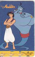 ARGENTINA(chip) - Disney/Aladdin, Telefonica Telecard(F 29), Chip GEM1b, 09/96, Used - Argentina