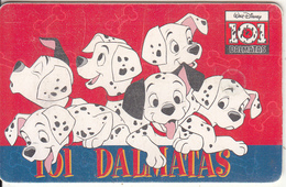 ARGENTINA(chip) - Disney/101 Dalmatas, Telefonica Telecard(F 32), Chip GEM1, 10/96, Used - Argentina