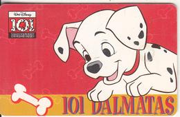 ARGENTINA(chip) - Disney/101 Dalmatas, Telefonica Telecard(F 33), Chip GEM1, 10/96, Used - Argentina