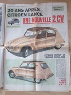 La Citroen 2cv Diane 2 Cv - Cars