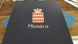 LOT 406160 ALBUM DAVO LUXE POUR TIMBRE DE MONACO VIDE DE 1969 A 1984 PORT A 10 EUROS - Timbres