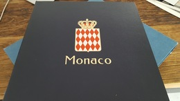 LOT 406160 ALBUM DAVO LUXE POUR TIMBRE DE MONACO VIDE DE 1969 A 1984 PORT A 10 EUROS - Collections (with Albums)