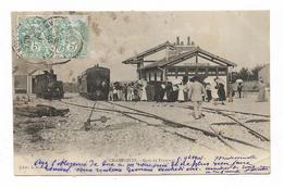 CPA 70 CHAMPLITTE Gare De Tramway - Francia