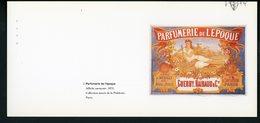 """CARTE PUB 12,5 X 27,5  - """"PARFUMERIE DE L'ÉPOQUE"""", AFFICHE ANONYME - Unclassified"""