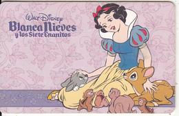 ARGENTINA(chip) - Disney/Blanca Nieves Y Los Siete Enanitos, Telefonica Telecard(F 34), Chip GEM1, 10/96, Used - Argentina