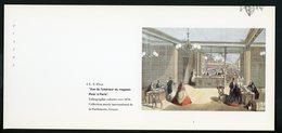 """CARTE PUB 12,5 X 27,5  - """"VUE DE L'INTÉRIEUR DU MAGASIN PIVER À PARIS"""", L.T. PIVER - Perfume & Beauty"""