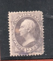 U.S.A.  U.S. POSTAGE 12 Cents - 1845-47 Emissioni Provinciali