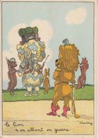 STARLING  Le Lion S'en Allant En Guerre - Künstlerkarten