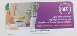 ROMANIA-CIGARETTES  CARD,NOT GOOD SHAPE-0.90X 0.43 CM - Tabac (objets Liés)