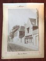 Lot De 4 Photos. Alençon. Le Comice. La Mairie. Ancienne Porte De La Ville. Rue De La Barre. Photos Animées. - Luoghi