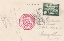 France Alsace Carte Journée Du Timbre Mülhausen 1942 - Elzas-Lotharingen