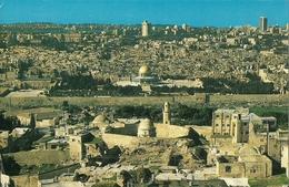 POSTAL ISRAEL JERUSALEM VISTA DESDE MONTE DE LOS OLIVOS - Israel