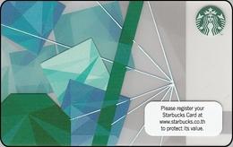 Thailand Starbucks Card  Icecubes - 2013-6097 - Gift Cards