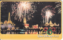 ARGENTINA(chip) - Walt Disney World 2000, Telefonica Telecard(F 173), Chip GEM1a, Tirage 50000, 12/99, Used - Argentina