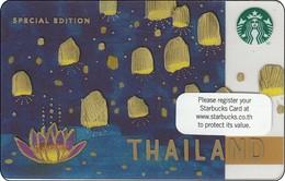Thailand Starbucks Card Loy Kratong - 2015-6113 RRR - Gift Cards