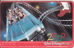 ARGENTINA(chip) - Walt Disney World 2000, Telefonica Telecard(F 171), Chip GEM1a, Tirage 50000, 12/99, Used - Argentina