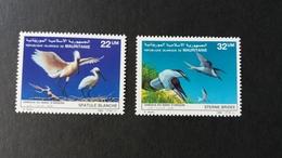 BUZIN - Mauritanie : Timbres Numéro 590/91 état Neuf - Mauritanie (1960-...)