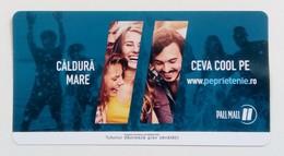 ROMANIA-CIGARETTES  CARD,NOT GOOD SHAPE-0.92 X 0.47 CM - Tabac (objets Liés)