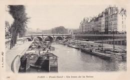 75 / PARIS / PONT NEUF / UN BRAS DE LA SEINE - Die Seine Und Ihre Ufer