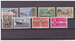 FRANCIA - 1961/1962- ALCUNI VALORI. - MH* - France