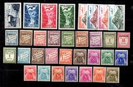 Andorre Belle Petite Collection De Taxe Et Poste Aérienne Neufs * 1931/1964. B/TB. A Saisir! - Collections