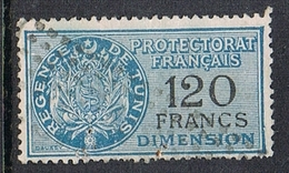 TUNISIE TIMBRE FISCAL DIMENSION - Used Stamps