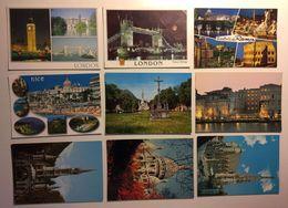 Lotto Cartoline - London Roma Rome Nice Lourdes Paris Parigi - Cartoline