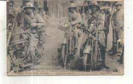 Eclaireurs Motocyclistes D'un Régiment - Guerre 1914-18