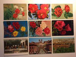 Lotto Cartoline - Fiore Flower Mialno Roma Leonardo Da Vinci - Cartoline