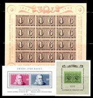 Suisse Blocs-feuillets YT N° 8, N° 10 Et N° 13 Neufs ** MNH. TB. A Saisir! - Blocs & Feuillets