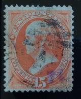 U.S.A.  U.S. POSTAGE 15 Cents Webster - 1845-47 Emissioni Provinciali