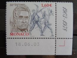 MONACO 2003 Y&T N° 2401  ** -  CENTENAIRE DE LA NAISSANCE DE ARAM KHATCHATURIAN - Monaco