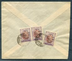 1926 Iran Persia Regne De Pahlavi 1926 Overprint Cover. Teheran - Sultanabad. - Iran