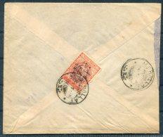 1926 Iran Persia Regne De Pahlavi 1926 Overprint Cover. Mehallat - Sultanabad. - Iran