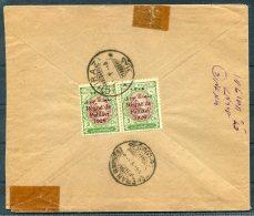 1926 Iran Persia Regne De Pahlavi 1926 Overprint Cover. Chiraz - Teheran. Sandug. Perf 11.5 - Iran