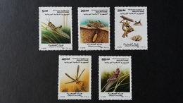 BUZIN - Mauritanie : Timbres Numéro 623/27 état Neuf - Mauritanie (1960-...)