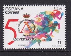 1.- SPAIN 2018 50th Anniversary Of The Spanish Olympic Academy - Juegos Olímpicos