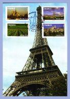 Carte Philatelique - Paris (75) - Images De La France // Tour Eiffel - Eiffelturm