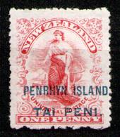 PENRHYN 1902 - From Set MH* - Penrhyn