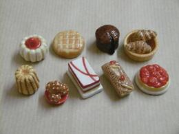 Fèves - Alimentation Pâtisserie - Lot De 9 GÂTEAUX - Other