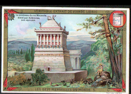 CHROMO LIEBIG , S 451,  Les Sept Merveilles,  Le Tombeau Du Roi Mausole - Liebig