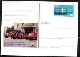 BUND PSo33 Sonderpostkarte FEUERWEHR Essen ** 1994 - Sapeurs-Pompiers