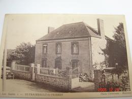 C.P.A.- Saint Fraimbault De Prières (53) - Les Sapins - 1910 - SUP (AH7) - France