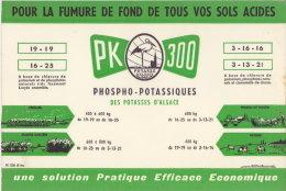 Buvard Publicitaire Des Potasse D' Alsace, TBE - Farm